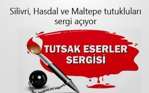 Silivri, Hasdal Cezaevi ve Maltepe askeri cezaevindeki tutukluların yaptıkları ebrular ve yağlıboya resimler bir sergide toplanıyor. ODATV – Maltepe askeri cezaevinde tutuklu bulunan Derya Günergin ve yine Balyoz davasından Maltepe de tutuklu olan Önder çelebinin tutuklu oldukları...Balyoz Davasından, Bulunan Derya, Cezaevind Tutuklu, Derya Günergin, Askeri Cezaevindeki, Ebrular, Kartal Haberleri, Bir Sergid, Davasından Maltepe