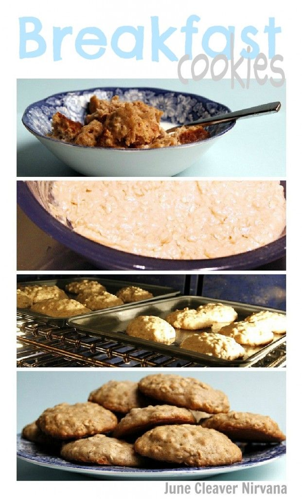 You mean we can have cookies for breakfast? Why, yes, yes we can! Your kids will love these!