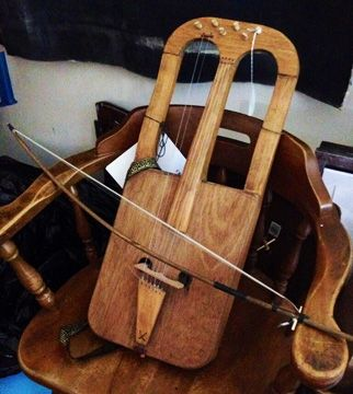 Welsh crwth. Early Music Stringed Instruments - Early stringed Instruments available from the Lark in the morning world musical instruments online catalog