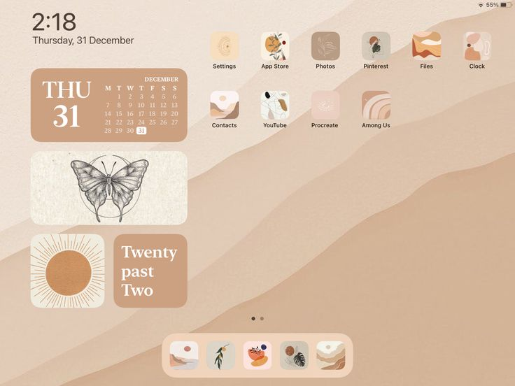 Pin by Delaney Miller on ios 14 in 2021 | Custom ipad ...