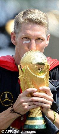 Winner: Bastian Schweinsteiger...