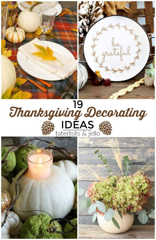 Great Ideas 19 Welcoming Thanksgiving Decorating