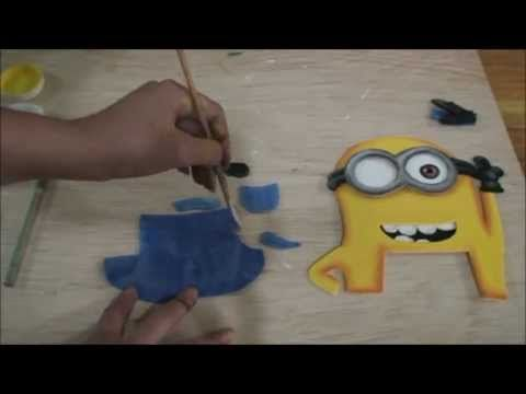 Minions - Como Hacerlos en fomi (how to make them with fomi)