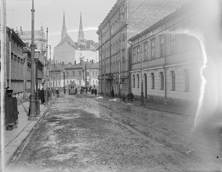 vintage everyday: Vintage Photos of Street Scenes of Helsinki, Finland, ca. 1900s