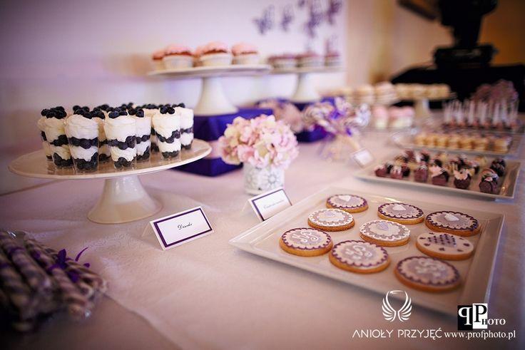15. Butterfly Wedding,Sweet table decor,Sweets / Motylkowe dekoracje,Dekoracje słodkiego stołu,Słodkości,Anioły Przyjęć