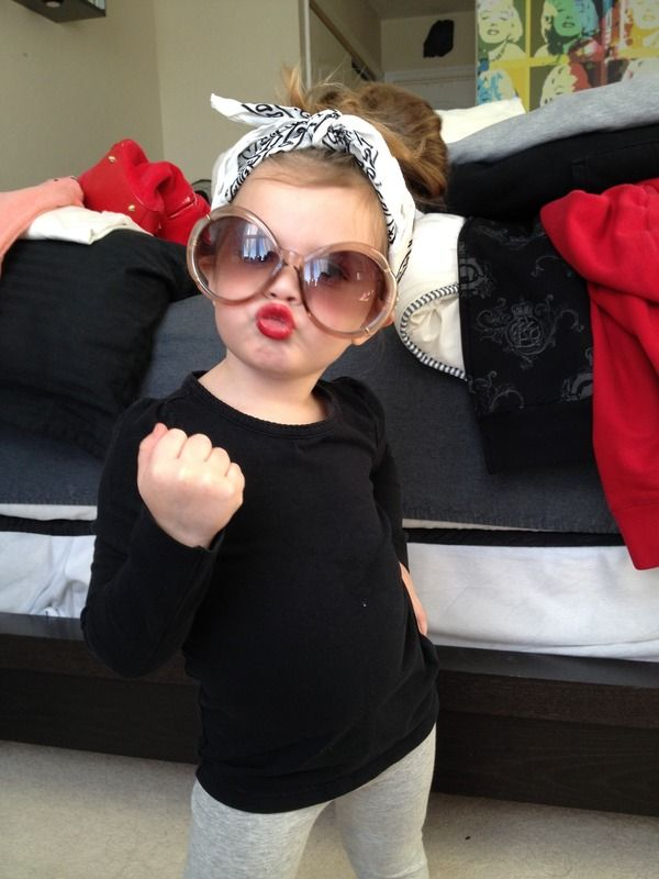 If I ever have one, This will be our daughter some day!! I love baby clothes and their attitudes lol