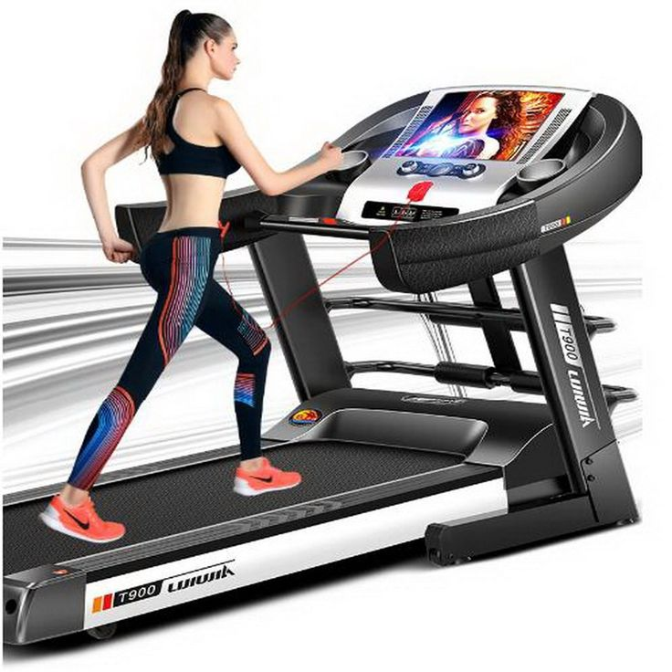 777.50$  Buy here - http://aliikl.worldwells.pw/go.php?t=32780134402 - 231232/ Household multifunctional Electric running machine /Fitness equipment/High-strength shock absorber spring/Silent design