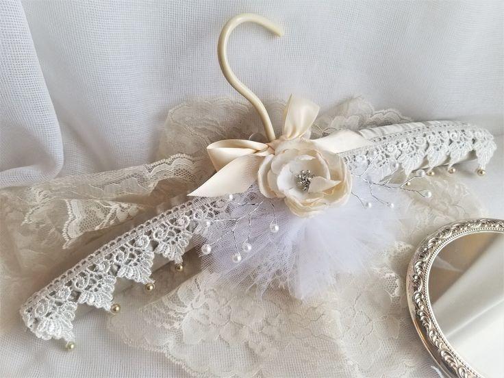 Brides Hanger / Bridal BLING Hanger with Wedding Date