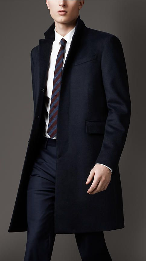 Wool Cashmere Topcoat | Burberry http://us.burberry.com/wool-cashmere-topcoat-p38794871