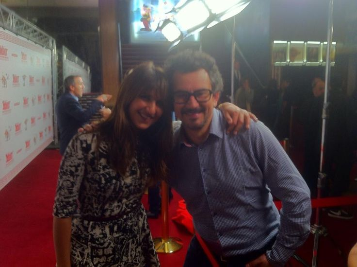 #Exclu #ASTERIXDDD @GeraldineNakach et @m6 pour l AVP du #film  au @LeGrandRexOff date 26/11 au #cinema!