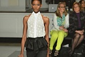 How One Pair Of Neon Pants Photobombed An Entire Fashion Show