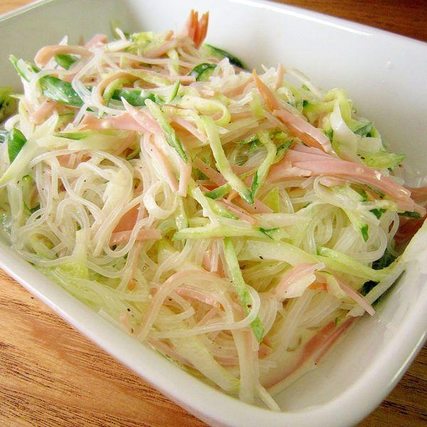 簡単☆マヨネーズ味の春雨サラダ