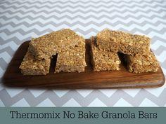Thermomix No Bake Granola  Bars