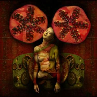 "Saatchi Art Artist Alexandr Drozdin; Photography, ""Pomegranate - Limited Edition 1 of 15"" #art"