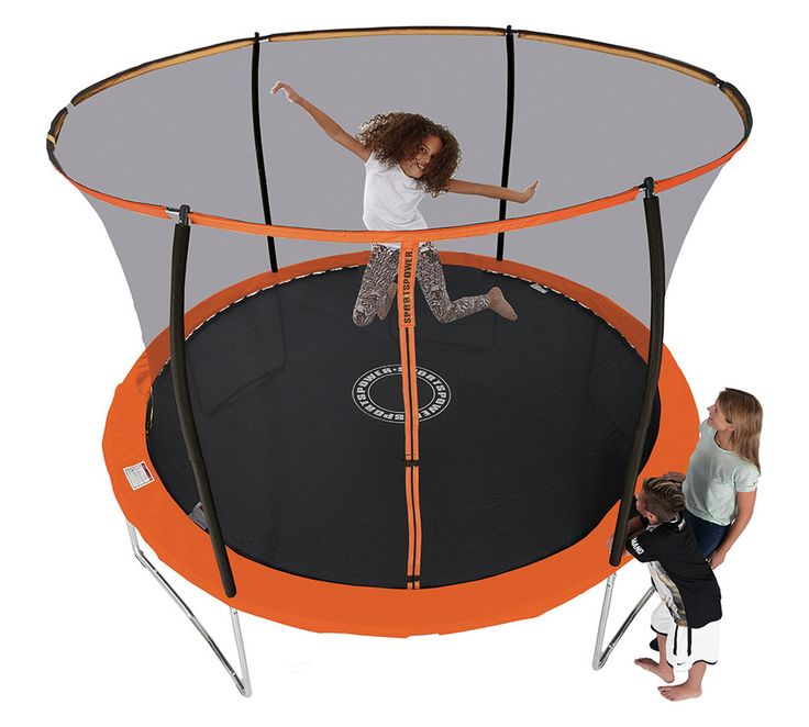 Buy Sportspower 10ft Trampoline With Folding Enclosure at Argos.co.uk, visit Argos.co.uk to shop online for Trampolines and enclosures, Trampolines and accessories, Outdoor toys, Toys