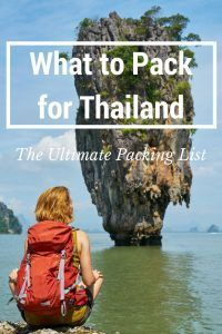 What to Pack for Thailand: The Ultimate Packing List. Click here to learn more!