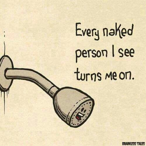 Shower humor