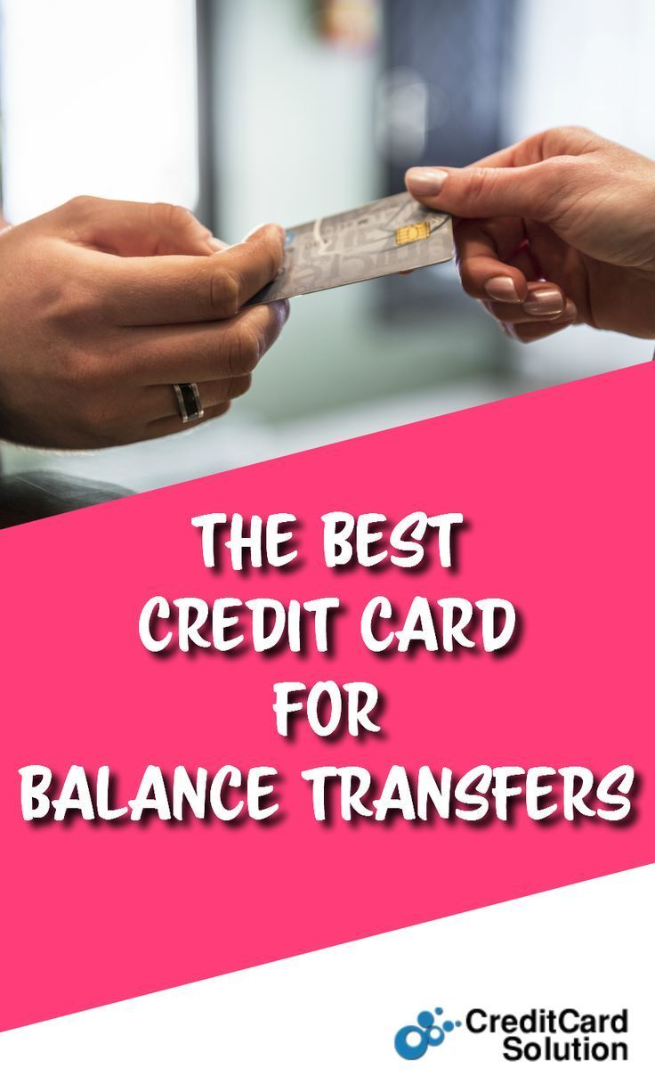 The Best Credit Card For Balance Transfers # ...