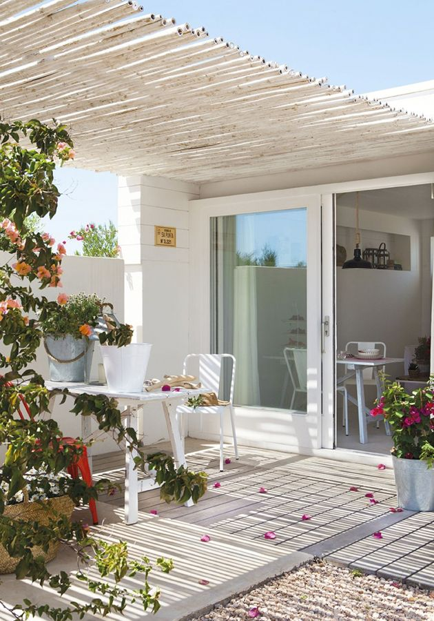 M s de 25 ideas incre bles sobre casas mediterr neas en for Decoracion de porches de casas