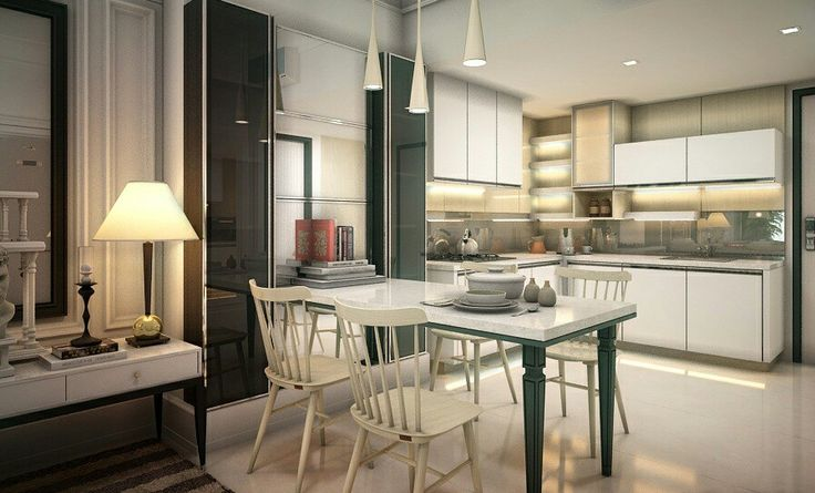 Kitchen Space//Apt GBP//3D design&Visualitation//JKT//2016//www.cartprojectindonesia.com