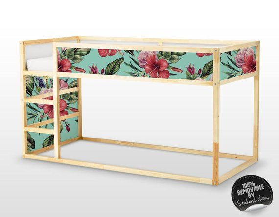 Kura letto, Ikea, Spring Rose Sticker Set, PACK di 5