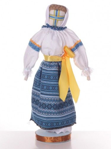 #Ukraine #Folk #Doll with #yellow #stripe  http://nuwzz.com/product/ukraine-folk-doll/