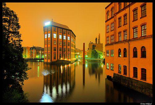 Orange Night, Norkopping, Sweden