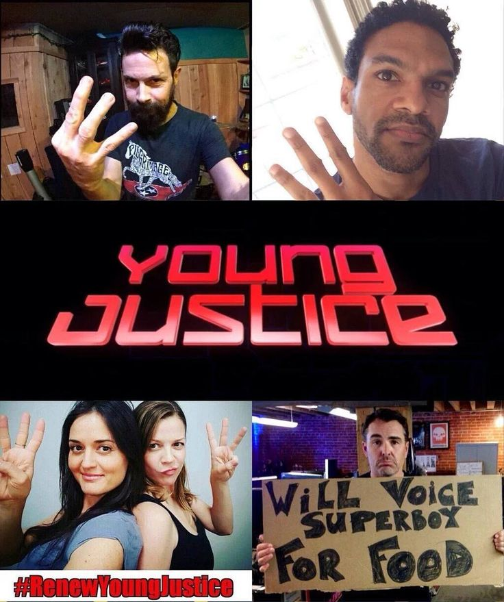 Impulse Aqualad Artemis Miss Martian & Superboy are all fighting for YOUNG JUSTICE Season 3.  #RenewYoungJustice by superherofeed