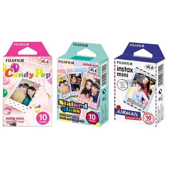 FujiFilm Instax Mini Picture Fuji Instant Film Photo 30 Shots