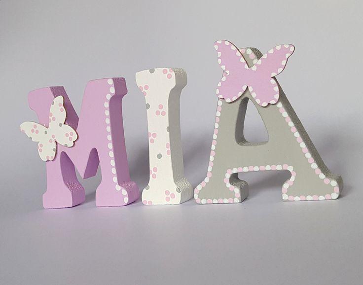 25 einzigartige holzbuchstaben ideen auf pinterest for Holzbuchstaben babyzimmer
