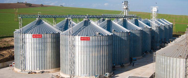 Yüksek ekipman güvenliği sağlayan silo üreticisi Mysilo!  www.mysilo.com #silo #silos #tahıl #steel #çelik