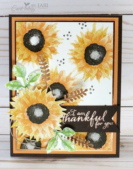 Stampin' Up! Painted Harvest-Cardiology by Jari