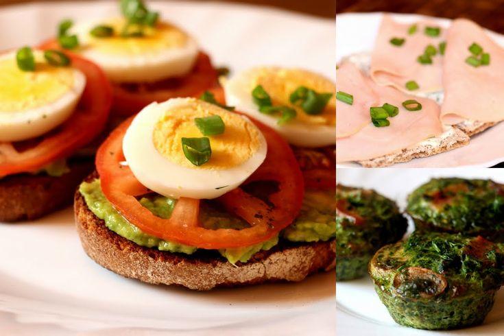 Cateva idei de mic dejun sanatos