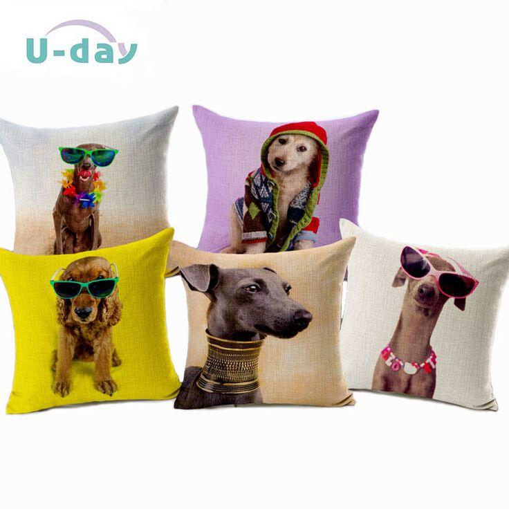 Cheap Perro del hogar del coche cojín almohadas decorativas cachorro Cojines Funda Cojines onda fundas de colchón coussin decoración CH5D08, Compro Calidad Cojines directamente de los surtidores de China: