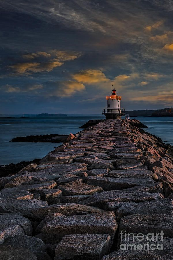 Spring Point Ledge Lighthouse - Portland, ME | Photography ...
