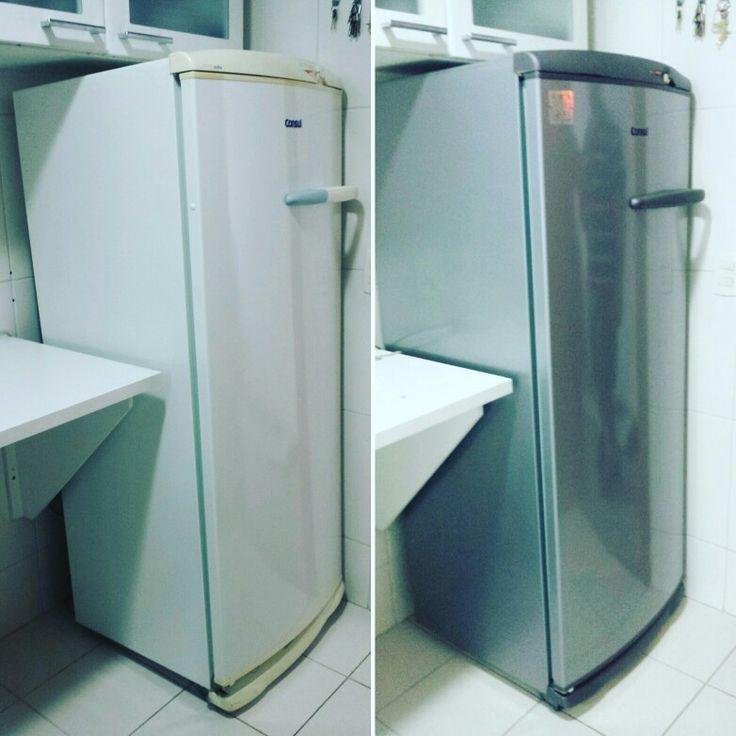 Aparador Ikea Blanco ~ 17 Best images about Restauraç u00e3o e Envelopamento de geladeiras e Freezers on Pinterest Follow