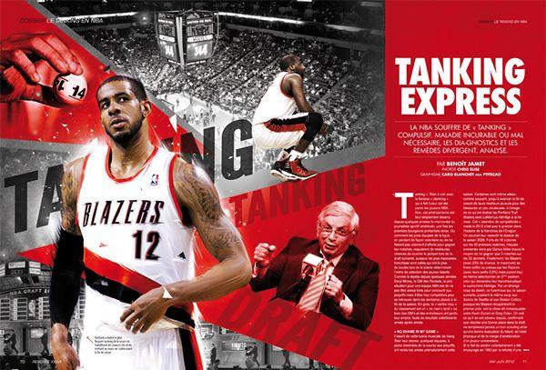 Illustrations french basketball magazine