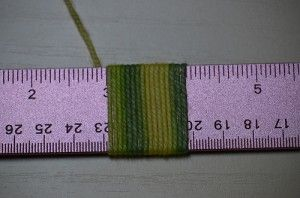 How to calculate yarn needed for a rigid heddle project.