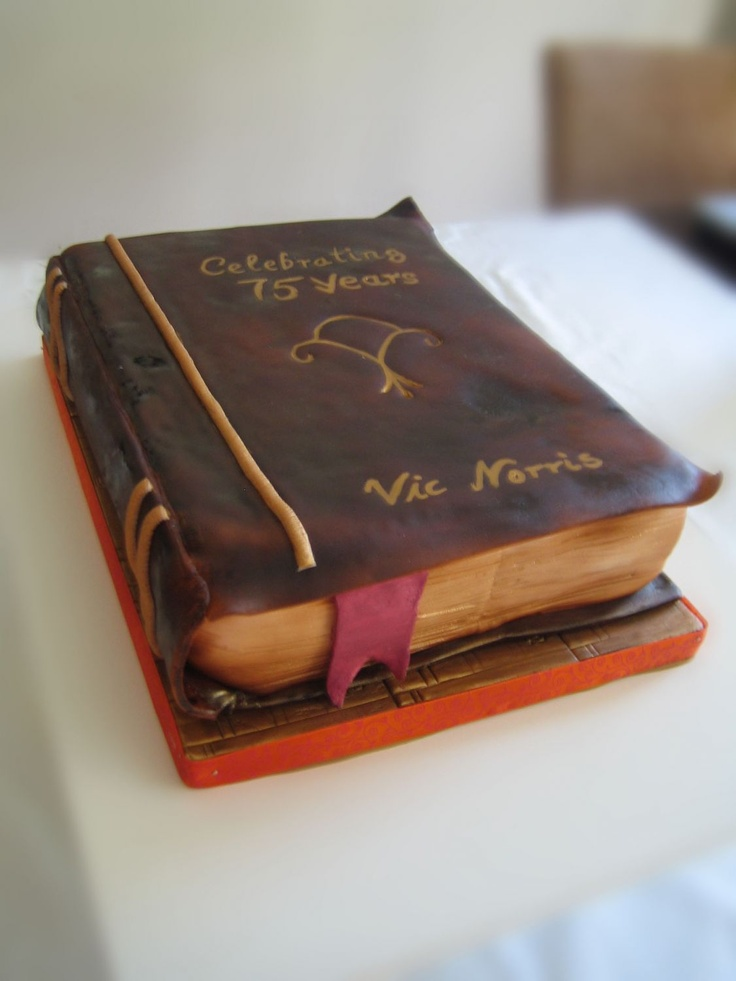 86 Best Images About Book Cakes On Pinterest Open Book