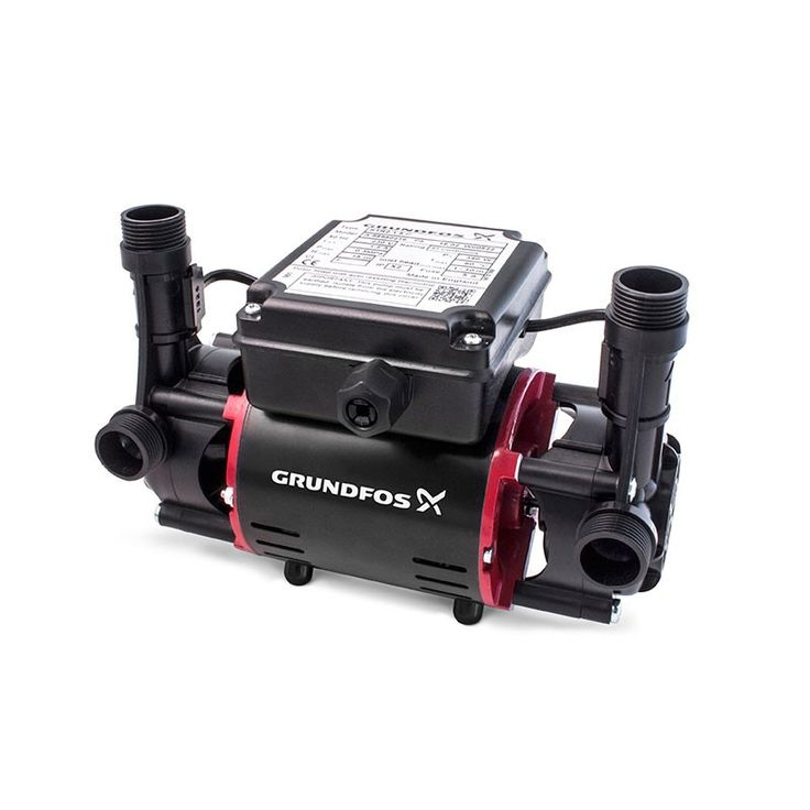 The Niagra Centrifugal 2.0 Bar Twin Impeller Centrifugal Shower Pump increases water pressure to a gravity fed hot water system. The Grundfos 2.0 Bar Twin Impeller are ideal for a range of domestic shower applications.