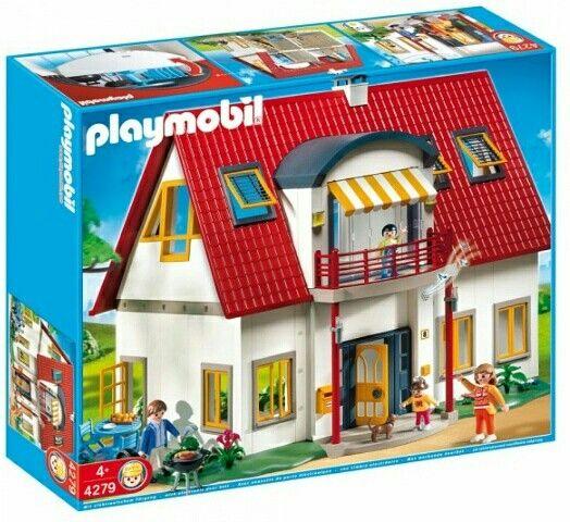 NUEVO.PLAYMOBIL CASA MODERNA. 4279. DISPONIBLE EN COLECCION@. www.coleccionalego-playmobil.es