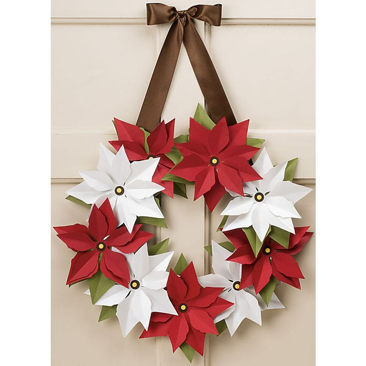 www.memorymiser.com - Poinsettia Wreath Kit