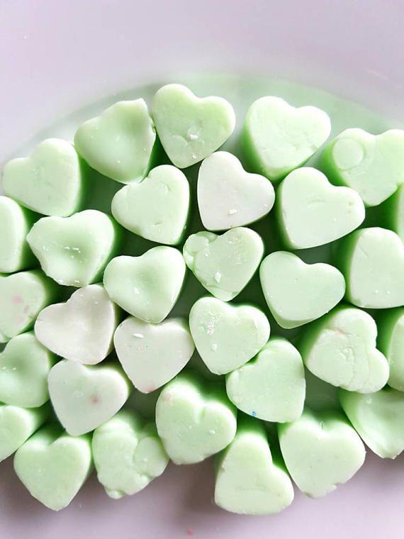 Coconut heart shaped wax Melts £2  https://www.etsy.com/uk/listing/527599885/coconutheart-shaped-wax-meltsscented