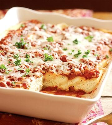 Healthy Pasta Recipes for People with Diabetes | Diabetic Living Online THREE-CHEESE MANICOTTI.