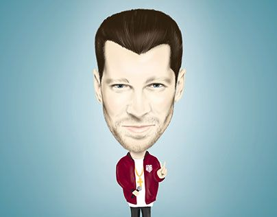 """Check out new work on my @Behance portfolio: """"Digital 2D real caricature"""" http://be.net/gallery/47343749/Digital-2D-real-caricature"""
