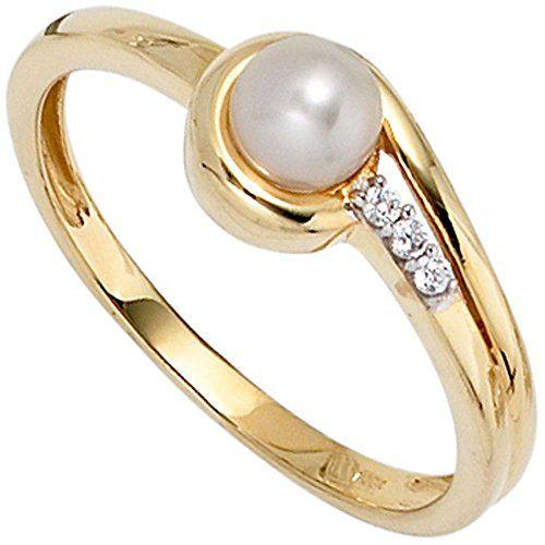 Dreambase Damen-Ring Perle 1 Süßwasser-Zuchtperle 8 Karat... https://www.amazon.de/dp/B00EYGQU1Y/?m=A37R2BYHN7XPNV
