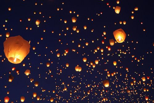 The gardens were illuminated with 5000 lamps and Chinese lanterns according to reports...