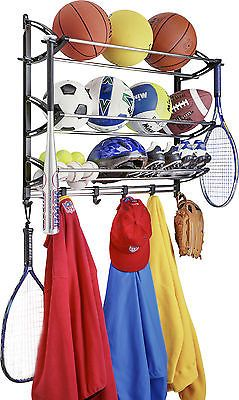 Bicycle Stands and Storage 158997: Lynk® Wall Mounted Sports Rack BUY IT NOW ONLY: $31.33