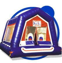 Clown bounce house. Great for making your party or event special! Boys and girls both love this happy face.
