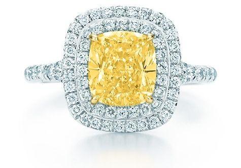 3. Tiffany Soleste Yellow Diamond Ring - 7 Gorgeous Yellow Diamonds by Tiffany ...   All Women Stalk